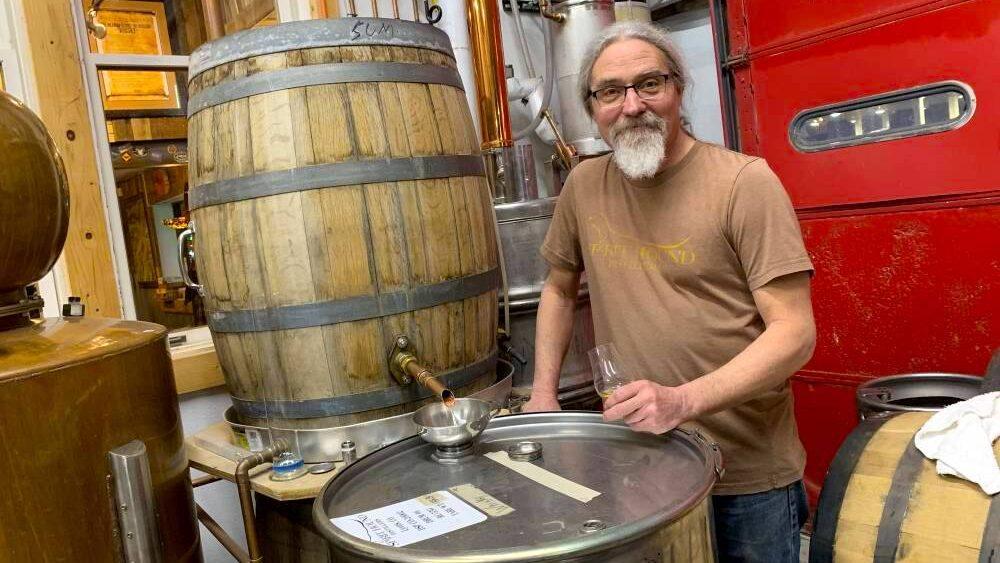Distillers like Spirit Hound in Lyons, CO are fighting coronavirus by making hand sanitizer.